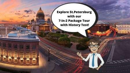 Excursão De 2 Dias Na Classe Executiva Em São Petersburgo