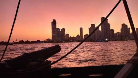 Von Cartagena: Piratenschiff Sunset Sail Mit Open Bar