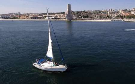 Sailboat 4-Hour Rental In Lisbon