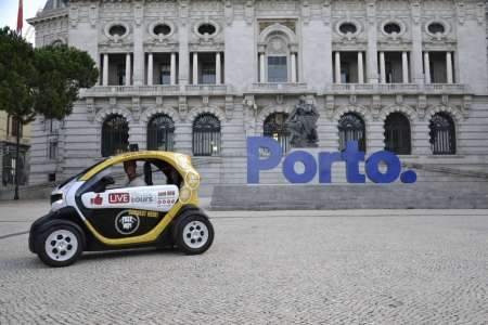 porto city center electric car tour