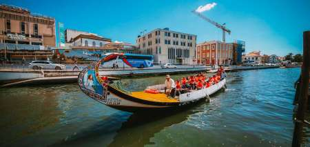 Moliceiro Boat Tour In The Aveiro Canals