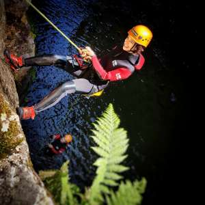 From Ponta Delgada: Full-Day Canyoning Experience In Ribeira Dos Caldeirões With Pickup & Picnic