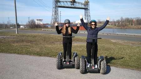 Ontario: Visite D'Une Heure En Segway Le Long Du Canal Welland
