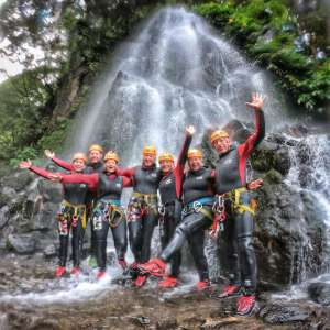 From Ponta Delgada: Full-Day Canyoning Experience In Ribeira Dos Caldeirões With Picnic