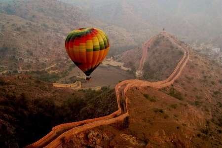Hot Air Balloon Safari In Jaipur With Transfer