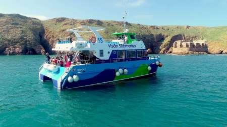 Peniche: Berlengas Katamaran Tour Mit Unterwasserblick