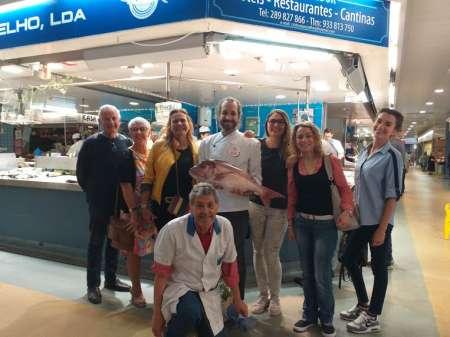 Cataplana Para Todos: Clase De Cocina Con Visita Al Mercado De Faro Y Almuerzo