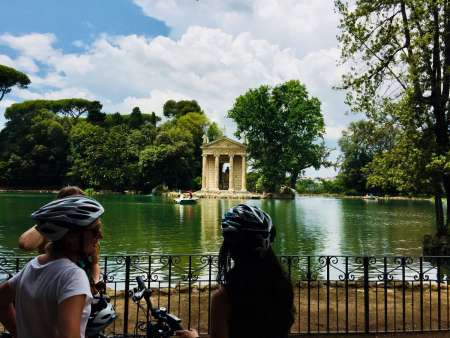 Rome: Food-Electric Bike Tour On The River