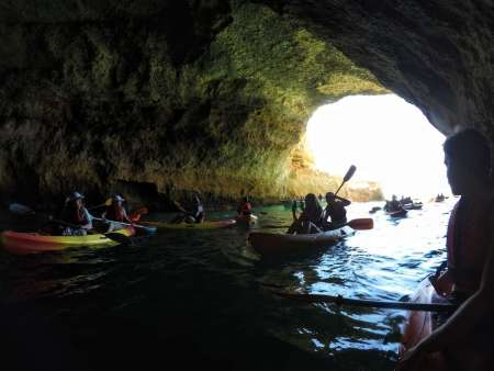 Benagil Caves Kayak Tour With Local Guide And Free Time Inside Benagil