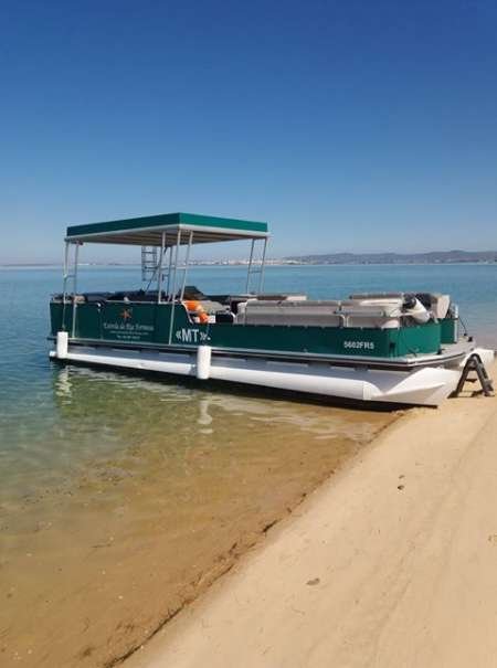Katamaran-Tour Zu Den 4 Inseln Des Naturparks Ria Formosa Von Faro Aus