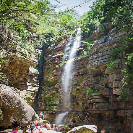 Bahia: Ausflug Zum Moskito-Wasserfall, Poço Do Diabo Und Sonnenuntergang Bei Morro Do Camelo