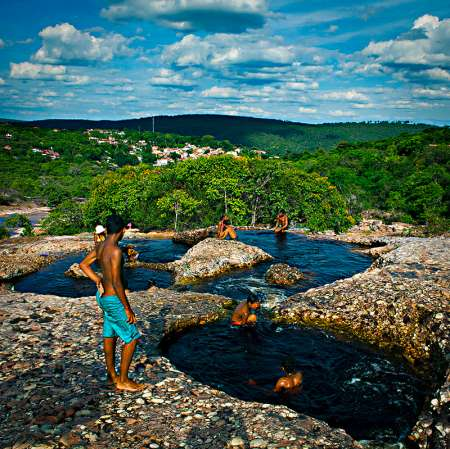 Chapada Diamantina: Tagesausflug Von Lençóis Nach Ribeirão Do Meio Und Zum Muritiba Park