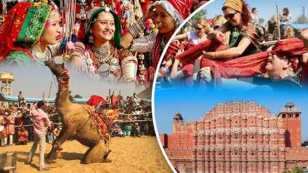 Viagem De 9 Dias Ao Triângulo Dourado Da Índia Com Visita À Feira De Pushkar