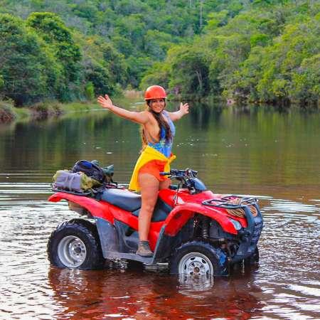 Chapada Diamantina: Quad Bike Tour On The Capivara River