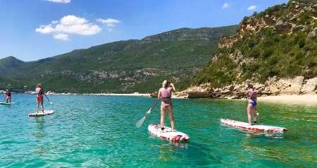 2-Hour Stand Up Paddle Tour In Arrábida Natural Park Near Lisbon