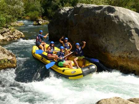 Rafting Experience On The Cetina River Starting From Split