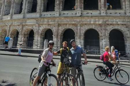 Rome: City Sights Highlights Private Bike Tour