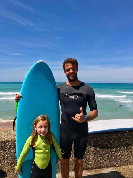 Private Initiation Surf Lessons In The Basque Country