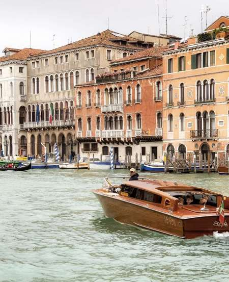 Venice: Grande Canal Boat Tour And Visit To Murano