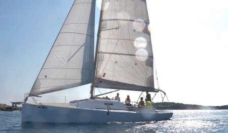 Private Segeltour Auf Den Paklinski-Inseln Von Hvar Am Morgen