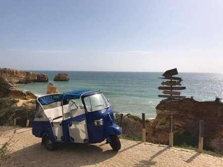 Albufeira Tuk Tuk Tour: Besuchen Sie The Beach & City