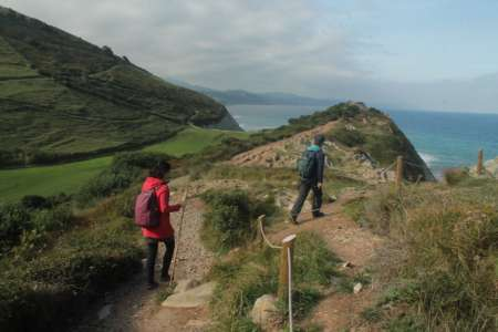 Randonnée Dans Le Géoparc De La Côte Basque De L'Unesco À Zumaia