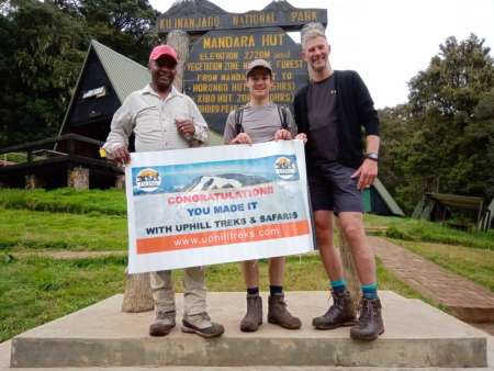 5 Days Kilimanjaro Climb Via Marangu Route