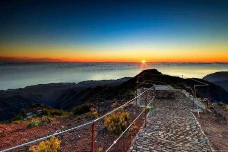 Madeira Island Sonnenaufgang Wanderung Bei Pico Ruivo Und 4X4 Tour Von Funchal