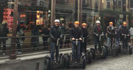Madrid 3-Hour Private Segway Tour