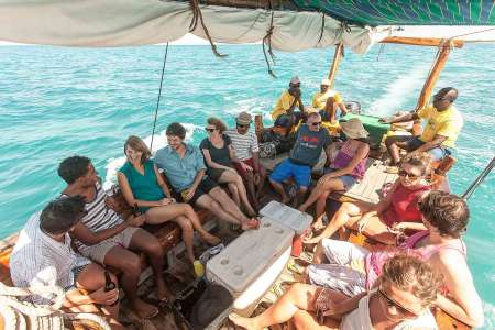 Excursion From Zanzibar To Kwale Island, Sandbank And Blue Lagoon