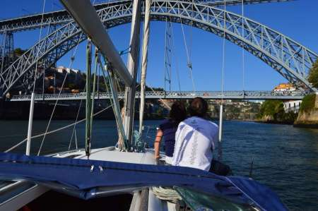 Douro River Private Sailboat Ride From Ribeira To Foz: The Romantic Cruise With Tapas And Wine