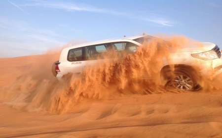Dubai: Red Dunes Desert Private Tour With Sandboarding