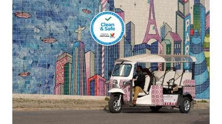 Lissabon: Street Art Tour Im Tuk Tuk