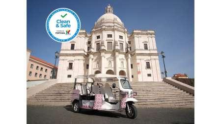 Lisbon: Tuk Tuk Tour In The Religious Monuments Of The City