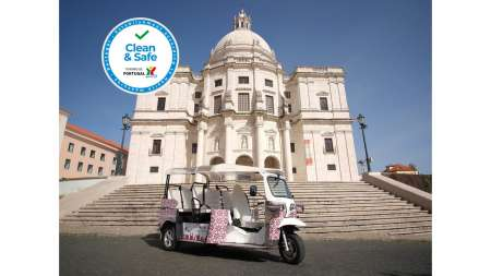1-Hour Tuk Tuk Tour In The Typical Lisbon
