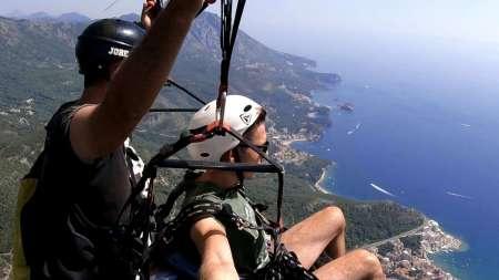 Paragliding In Budva