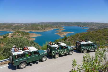 From Vila Real De Santo António: Explore East Algarve In A Full Day Jeep Safari