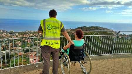 Île De Madère: Visite Guidée Accessible En Fauteuil Roulant Au Skywalk De Cabo Do Girão