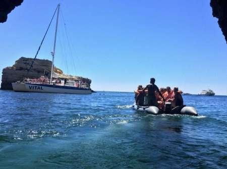 From Vilamoura: Visit The Benagil Caves In A 4H30 Tour In A Sailing Catamaran