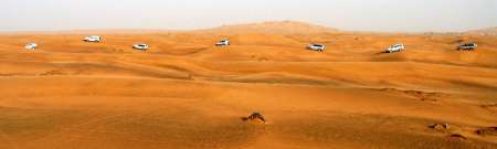 Deserto Vermelho de Dubai