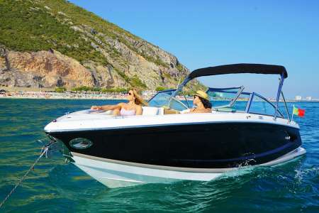 6-Hour Boat Trip With Lunch & Drinks On Board A Cobalt A25 From Setúbal And Troia