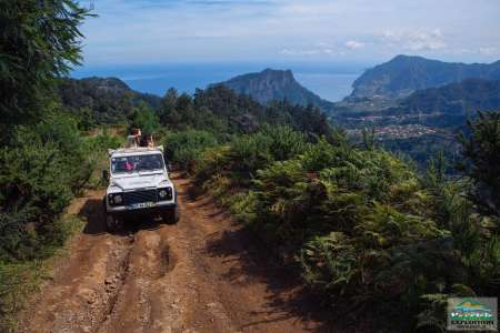 Madeira Island Jeep Combo Expedition With Levadas Walk