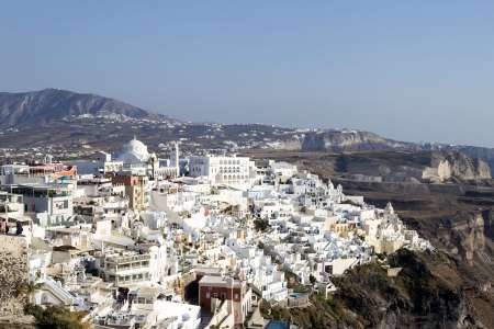 Visit Traditional Villages On The Caldera'S Cliff On A Santorini Private Half-Day Tour