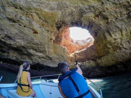 Benagil Cave Private Boat Tour Departing From Portimão