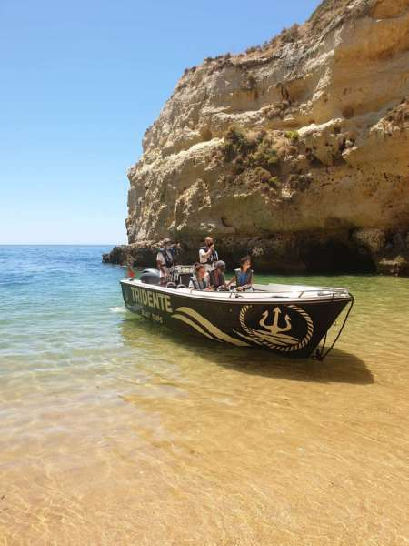 Private Benagil Cave Tour: Explore The Caves And Wild Beaches By Boat From Armação De Pêra
