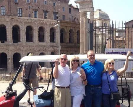 Rome Private Golf Cart Tour