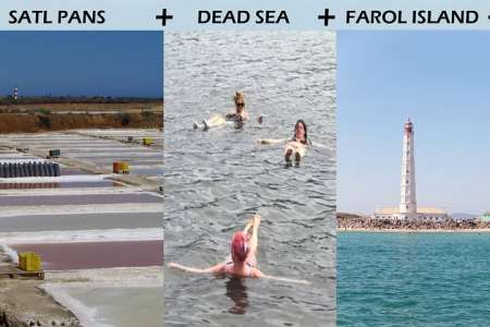 From Faro: Guided Tour To The Salt Ponds + Dead Sea Of Ria Formosa & 2 Islands Stops
