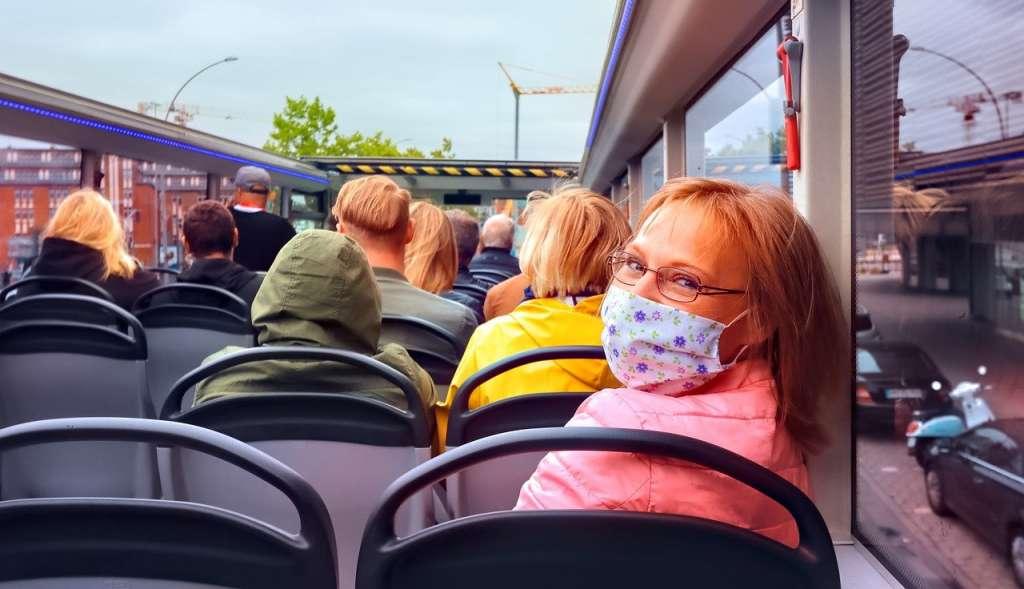 Pessoas continuam a viajar no pós pandemia