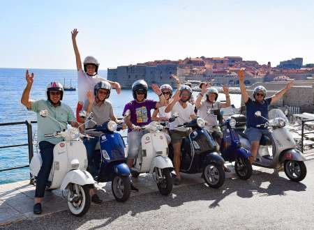 Dubrovnik Guided Vespa Tour