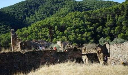 Hiking Route Through The Mountains Of Malaga